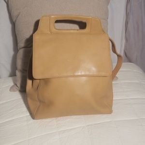 Kenneth Cole leather soft beautiful backpack